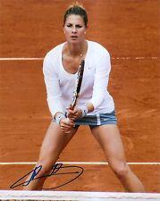 Mandy Minella Tennis 8x10 Photo Signed Auto COA