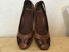 ladies clarks shoes size 7 Wedges