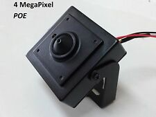 4MP IP POE Spy Nanny Pinhole ONVIF  HD Camera 3.7mm