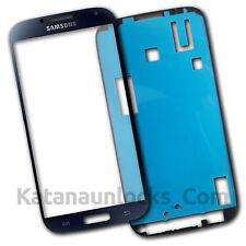 Schermo Vetro per Samsung Galaxy S4 I9500 Nero Touch Screen Biadesivo