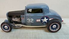 ACME 1:18 1932 FORD F4U US CORSAIR NAVY BLUE - FACTORY CASE NEW!!