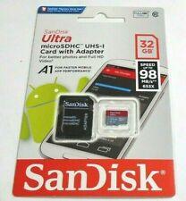 SanDisk Ultra A1 32GB Class 10 SDHC Memory Card (SDSQUAR-032G-GN6MA)