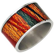 Modeschmuck-Ringe aus Edelstahl ohne Stein für Damen
