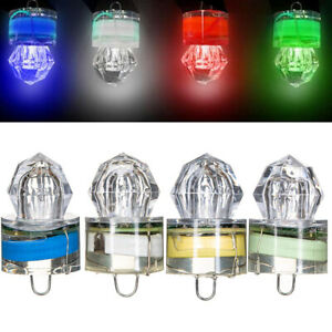 LED Flash Fishing Light Deep Drop Underwater Squid Strobe Bait Lure Lights Lamps