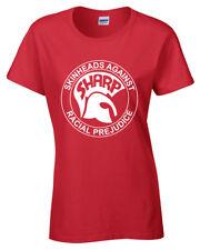 Sharp Cabeza Rapada Camiseta S-5XL Anti Racismo Mujer