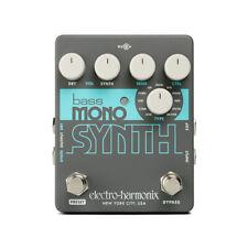Electro Harmonix EHX Bass Mono Synth Bass Guitar Effect Pedal