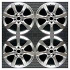Set 2005 2006 Infiniti G35 Oem Factory 403007w025 17 Oe Hyper Wheels Rims 73681