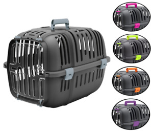 Heritage Pet Travel Carrier Dog Puppy Vet Transport Cat Kitten Rabbit Car Cage