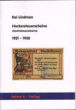 5029: Stool tax bills (Night tax bills) 1921 - 1938, Kai Lindman
