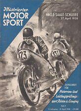 Illustrierter Motorsport Heft 9 / 1958 DDR !