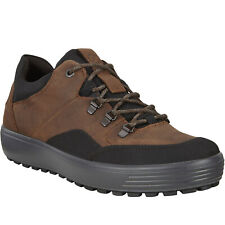 ECCO Mens Soft 7 Tred Gore-Tex GTX Leather Outdoors Walking Shoe - Black/Cocoa