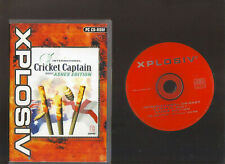 INTERNATIONAL CRICKET CAPTAIN 2001 ASHES EDITION. EXCELLENT CRICKET GAME FOR PC!