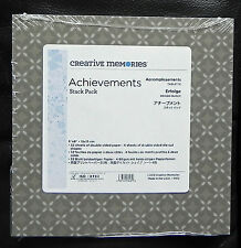 CREATIVE MEMORIES ACHEIVEMENTS 6x6  STACK PACK BNIP