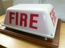 More details for mounted fire service lamp