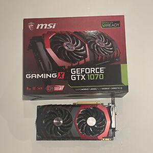 MSI GeForce GTX 1070 Gaming X Graphics Card 8 GB - Black