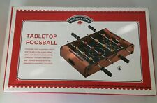 HOLIDAY TIME Tabletop Foosball With Box C1