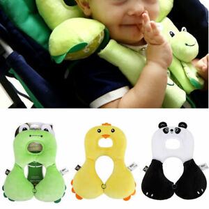 For Baby Safe Car Seat Pillow Head Neck Support Toddlers Headrest Strollers AU