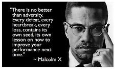 A3 Size - MALCOLM X QUOTE POPULAR GIFT / WALL DECOR ART PRINT POSTER