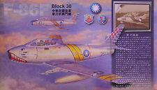 AFV Club 1/48 HF48002 ROC Air Force F-86F SABRE Block 30 Transonic Jet Fighter