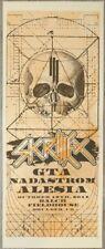2014 Skrillex - Boulder Silkscreen Concert Poster A/P by Andy Vastagh