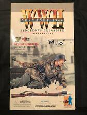 "Dragon WWII Life Action Figure, Normandy 1944 ""Milo"" Hedgerows Grenadier"
