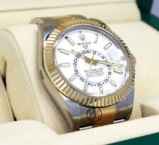 Rolex Sky-Dweller 326933 2-Tone 18K Yellow Gold /SS Oyster Watch B/P *BRAND NEW*