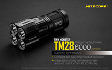 NEW Nitecore TM28 6000 Lumen LED Flashlight W/4 3100MAH IMR BATTERY-TM26 Upgrade