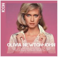 Olivia Newton-John - Icon (CD) • NEW • Best of, Greatest Hits, Physical, Xanadu