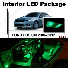 For Ford Fusion 2006-2012 Green LED Interior Kit Package