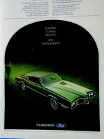 1970 Ford Thunderbird Soaring To New Heights Original Print Ad 8.5 x 11""