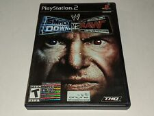 WWE SMACKDOWN VS RAW 2004 Sony Playstation 2 PS2 Wrestling THQ Video Game