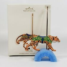 Hallmark Wild Tiger Carousel Ride Keepsake Ornament 2008