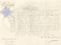 QUEEN VICTORIA (GREAT BRITAIN) - MILITARY APPOINTMENT SIGNED 12/14/1898
