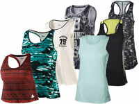 (R14+26) Crivit Damen Shirt Fitness Sportshirt Wellness Top Sport Funktionstop