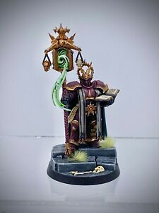 Warhammer AoS - Stormcast Eternals Lord Exorcist, painted (Astral Templars)