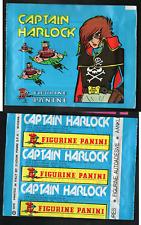 "Bustina Figurine ""Captain Harlock"" Ed.Panini Nuova Sigillata! 1979 ▓"