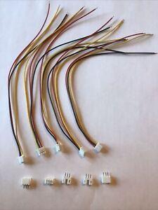 5 Paar JST PH2  3-Pin Stecker & Buchse, 2,0mm Pinabstand,Stecker mit 200mm Kabel