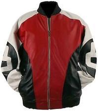 New 8 Ball Leather Jacket Bomber Jacket