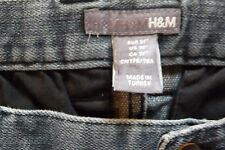 Women Jeans by H&M Size 31 Stretch Pre-owned Washed Black Ready to Ship! BUY NOW