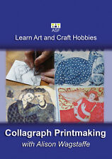 Collagraph Printmaking with Alison Wagstaffe Art Educational DVD Disc