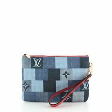 Bolsa de Ciudad de Louis Vuitton Damier y Monogram Patchwork Denim