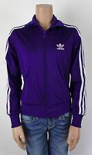 Adidas * traininsjacke gilet * Fitness Athletic Sporty * violet blanc * T 36