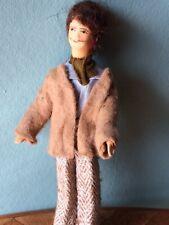 Mann Erna Meyer 80er Biegepuppe Puppenstube Puppenhaus 1:12 dollhouse doll