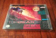 Top Gear 2 II  SNES Super Nintendo