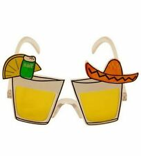 TEQUILA SHOT GLASSES NOVELTY SUNGLASSES HEN STAG PARTY FANCY DRESS ACCESSORIES