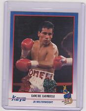 1991 KAYO LOUIE LOMELI BOXING CARD #32 ~ MELROSE PARK IL