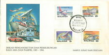 "M""sia FDC Asia-Pacific Communication Decade 20.10.1987"