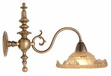 Wonderful Original Art Nouveau Wall Lamp Brass Ezan Paris 1920