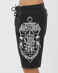 The Mad Hueys No Fks Given Board Shorts