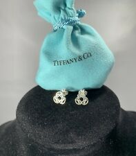 Tiffany&Co. Paloma Picasso Venezia Goldoni Triplo Sterling Silver Earrings